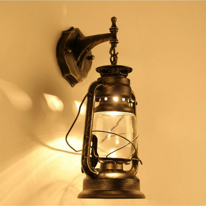 Retro Rustic Wall Sconce Light Outdoor