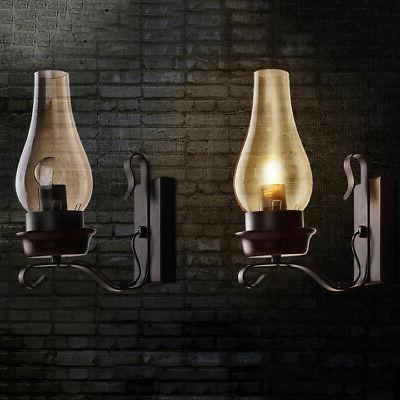 Rustic Stainless Wall Shade Lighting