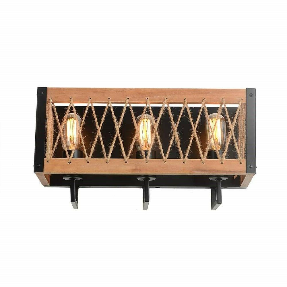 rustic wall sconce light fixture vintage industrial