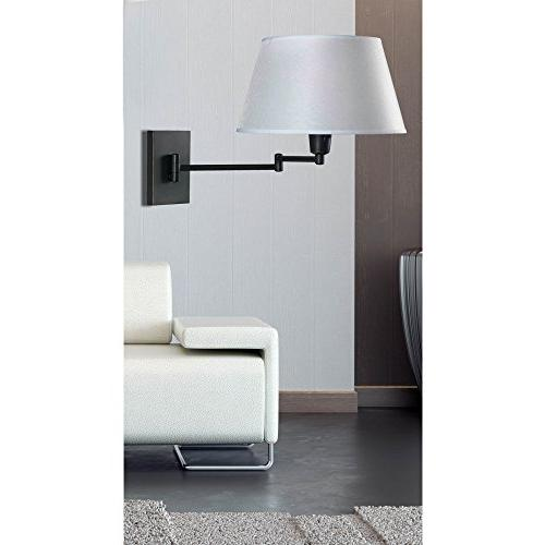 Simplicity One Light Arm Wall Lamp Finish: Oil Bronze