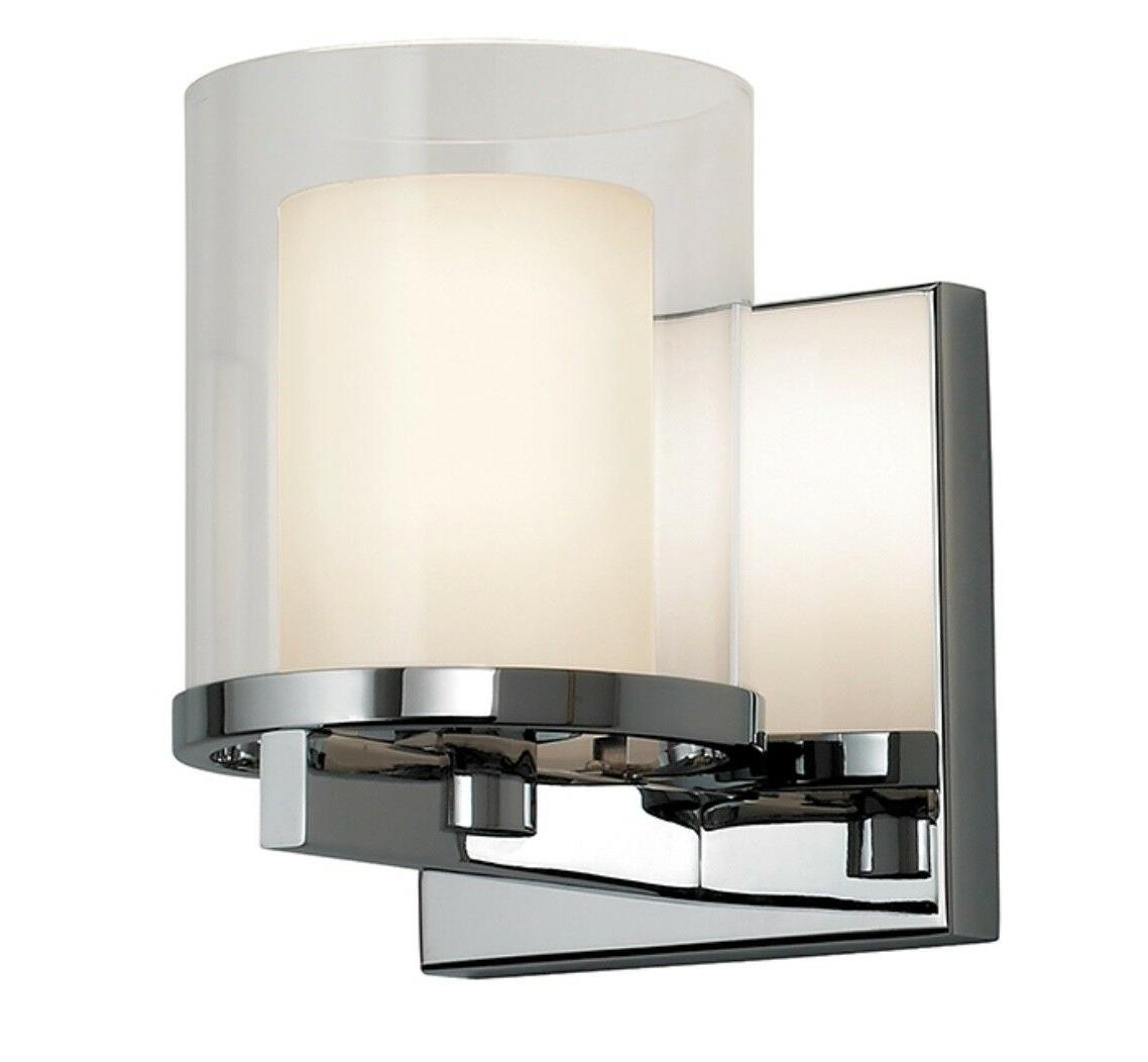 Sonneman Votivo Wall Sconce CHROME / NIB / Contemporary Bath
