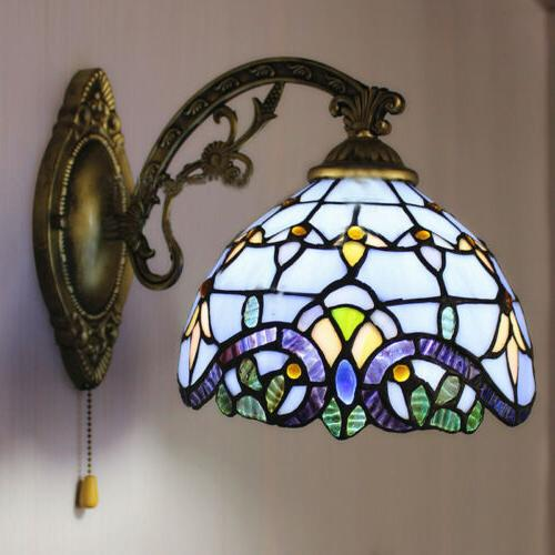 Stained Glass Wall Single Wall Light