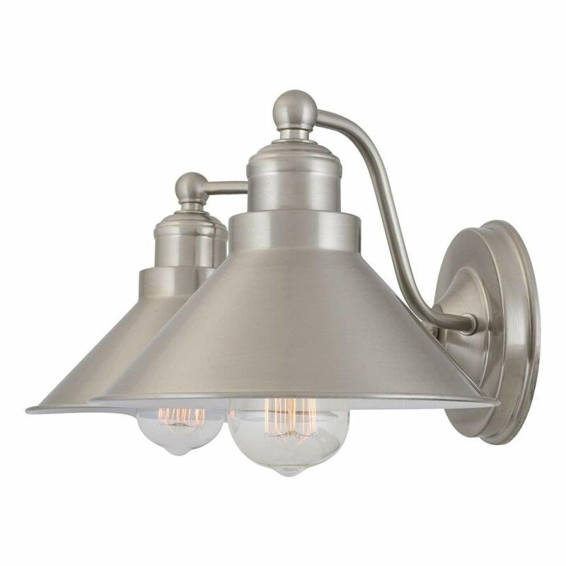 Summer Industrial Sconce Brushed