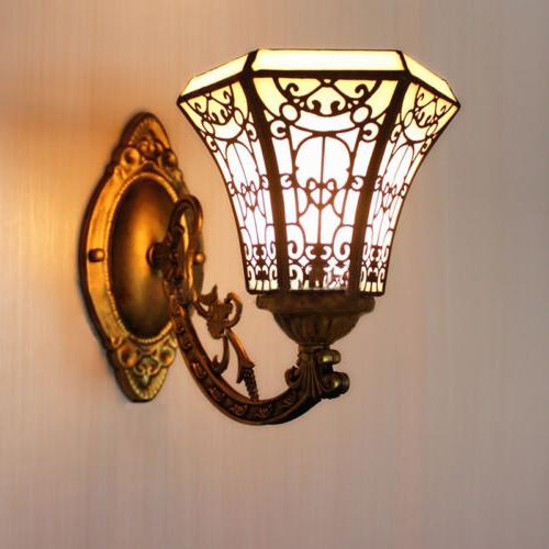 Tiffany Wall Sconce Glass Wall Mount