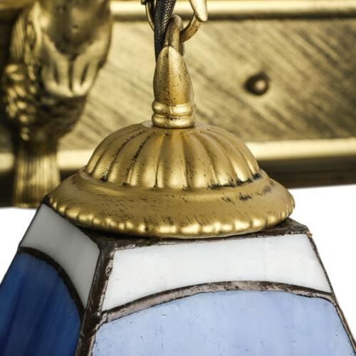 Tiffany Style Glass Wall Room Lamp Fixture