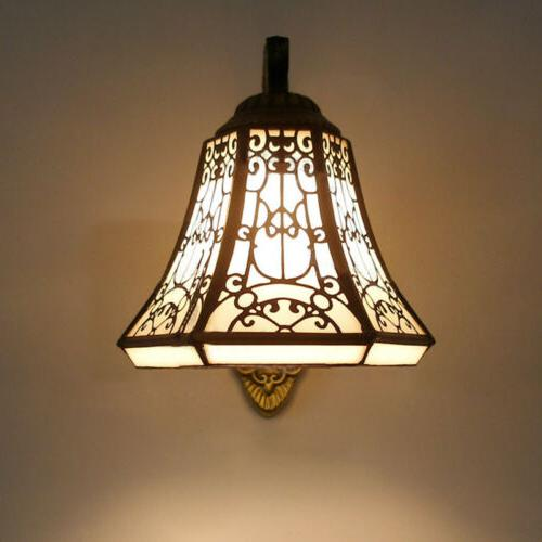 Vintage Glass Wall Light Shade Sconce Barn Lamp