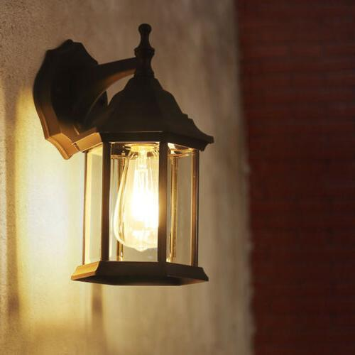 Twin Pack Wall Lantern Sconce Porch Lamp