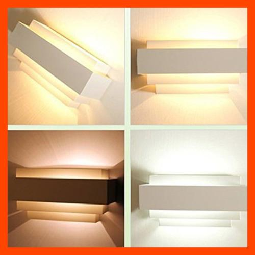 Lightess Up & Down Wall LED Sconce Light Bed