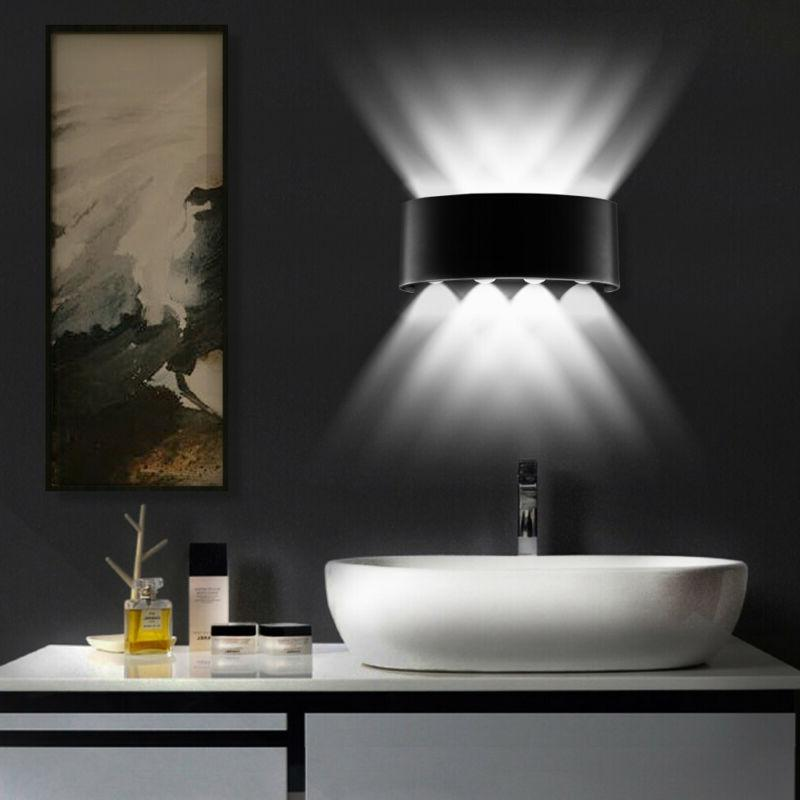 up down wall sconce 8w led wall