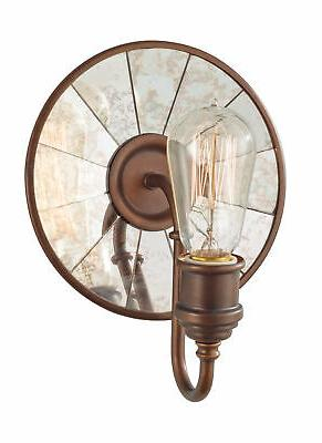 Urban Renewal 9-3/4 1 Light Wall Sconce in Astral Bronze