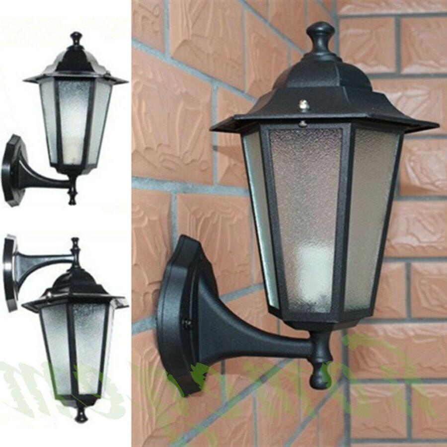 vintage exterior outdoor wall lamp sconce lantern