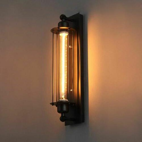 vintage industrial wall sconce lamp steampunk edison