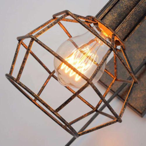 Industrial Wall Lamp Sconce Pulley Aisle Wall