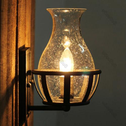Vintage Shade Candle Light Sconce Lamp