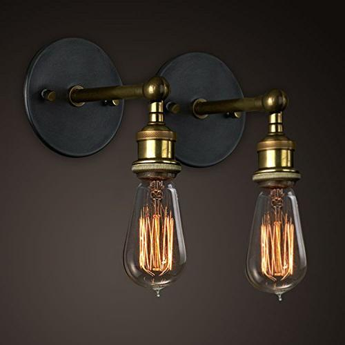 vintage wall lights copper head