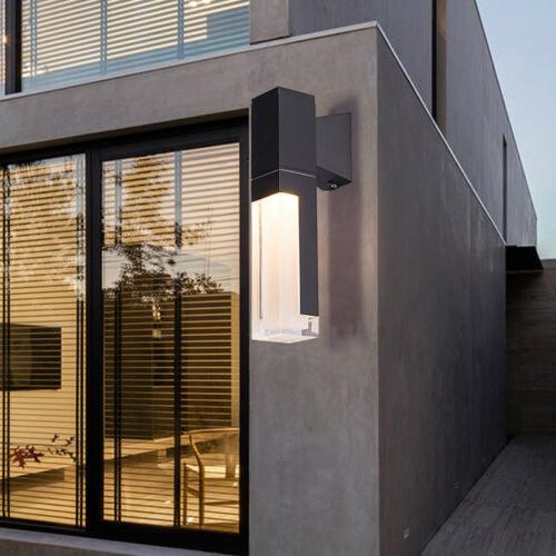 modern led outdoor wall lamp sconce light