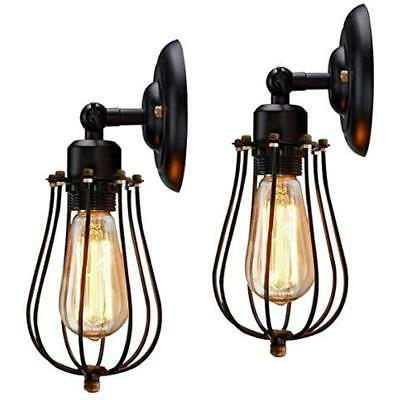 wall lamps and sconces wire cage sconce