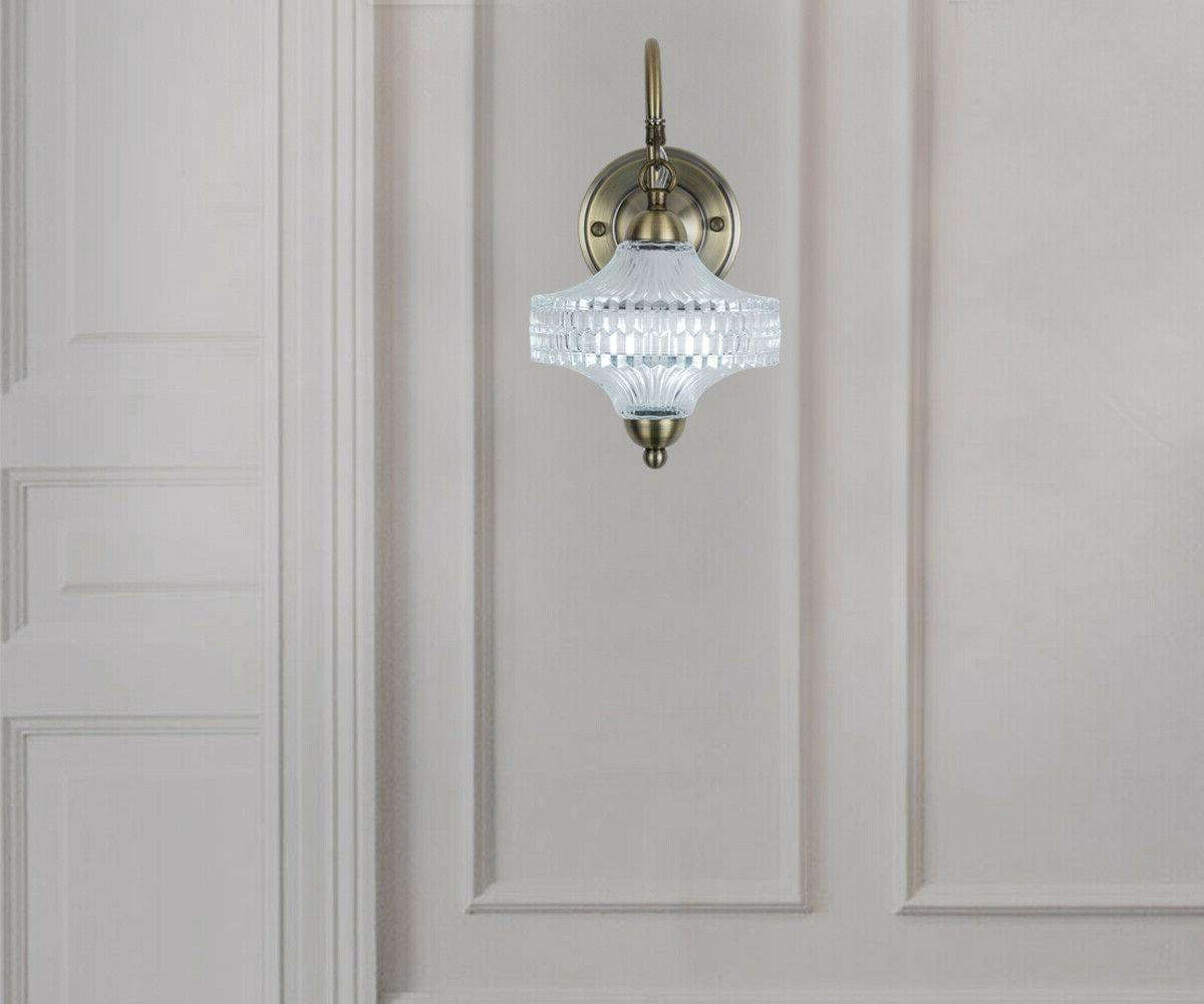 Wall Mount Sconce Clear Shade Wall Sconce Light