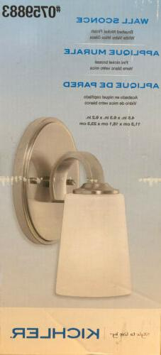 wall sconce 37411 brushed nickel 0759883