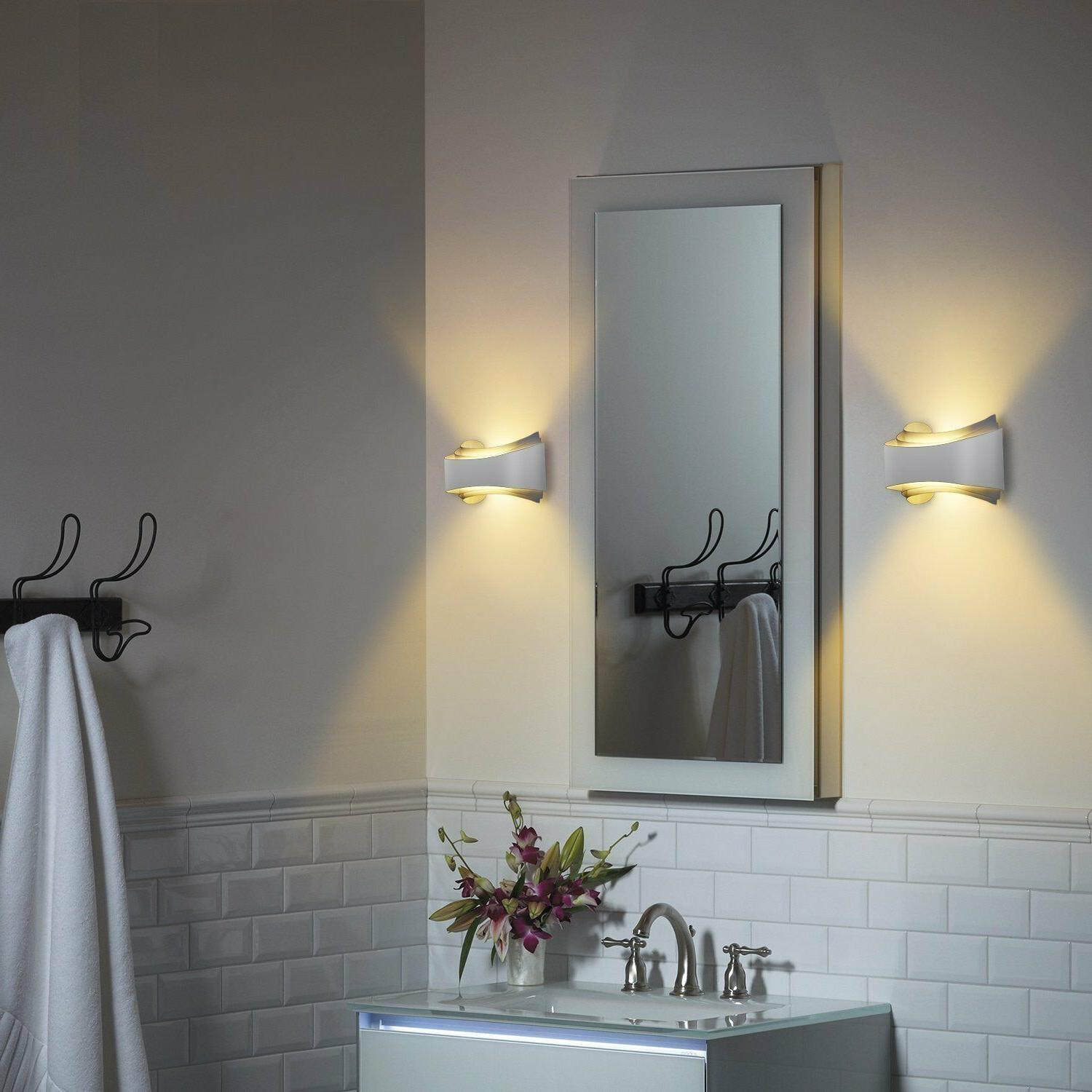 Albrillo Wall Sconce LED Wall Lights Lumen