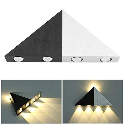 Lightess Up Sconce Lights Wall Lamp Triangle for Bathroom Home