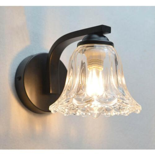 Wall Sconce Hardwire Painting Glass