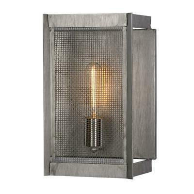 Designers Sconce Weathered Baxter 1-Light