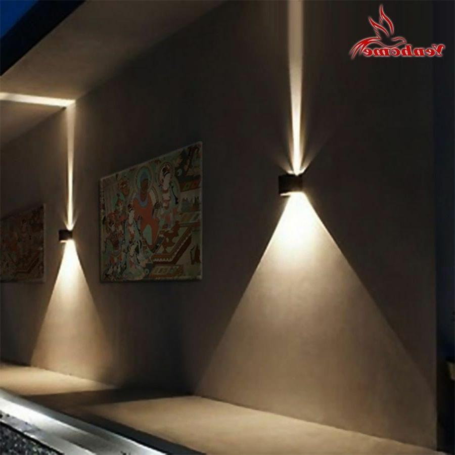 Waterproof Porch Step Lamps Wall Sconce LED Light For Bedroo