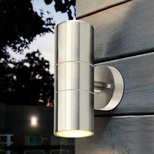 waterproof wall light up down ips tainless