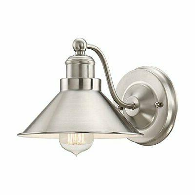 welton modern industrial wall sconce