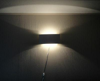 White Plug in Wall Light Sconce