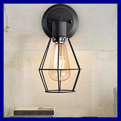 Wire Dimmable Light Shade Vintage Sty