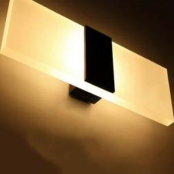LED 3W Wall Light Up Down Cube Indoor Outdoor Sconce Lightin