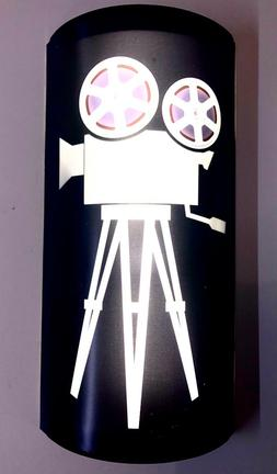 LED HOME THEATER MOVIE THEATER WALL SCONCE CINEMA FILM REEL