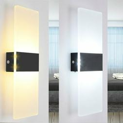 Modern LED COB Wall Light Up Down Lamp Sconce Spot Light Out