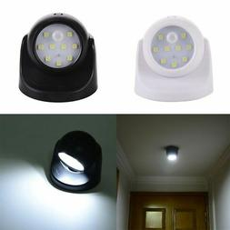 LED Light-operated Motion Cordless Sensor Battery Power Scon