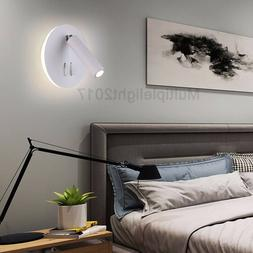 LED Wall Lamp With Double Switch Night Light Wall Sconce Spo