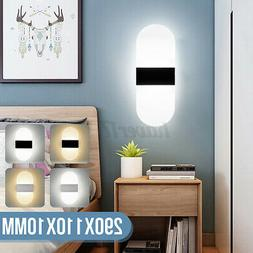 LED Wall Light Up Down Sconce Light Fixture Mount Bedroom De