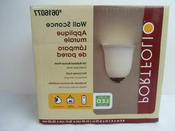 Portfolio LED Wall Sconce Battery  2 Timer Settings #0616077