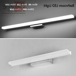 LED Wall Sconce Vanity Light Stainless steel Mirror Front La