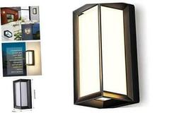 LIGHTESS Outdoor Wall Sconce Modern Exterior Wall Lights Mat