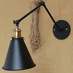 JINGUO Lighting Industrial Vintage Wall Sconce Adjustable Sw