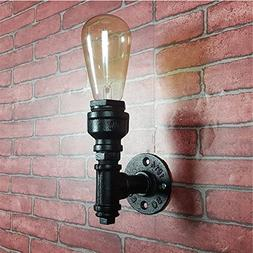 Loft Style Iron Water Pipe Wall Sconce Wall Lights Fixture
