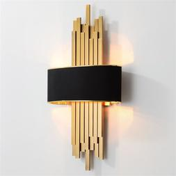 Metal Pipe Living room Led <font><b>Wall</b></font> Lamp <fo