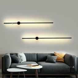 Minimalist LED Wall Sconce Lamp Linear Mounted Light Fixture