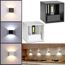 Modern 12W LED Up Down Wall Sconce Light Bedroom Spot Lighti