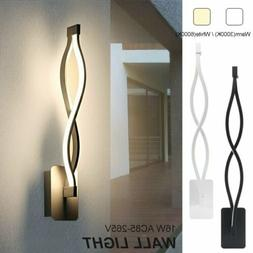 Modern 16W LED Wall Light Aisle Bedroom Wall Lamp Fixtures S