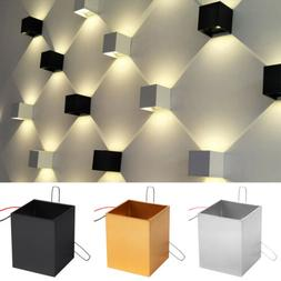 Modern 3W LED Wall Light Bedroom Up Down Spot Lighting  Lamp
