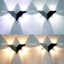 Modern 6W 18W LED Wall Light Sconce Lamp Night Light for Bed