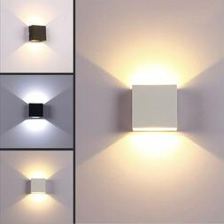 Modern 6W LED Wall Light Up Down Indoor Sconce Spotlighting